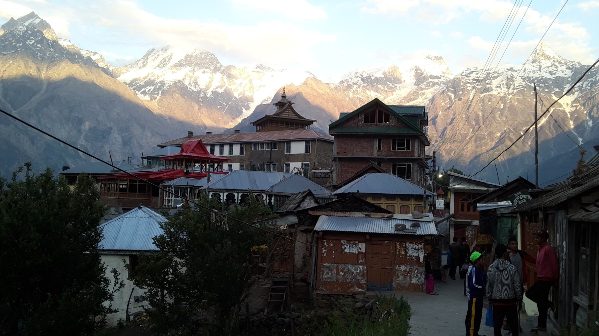 A serene morning in Kalpa