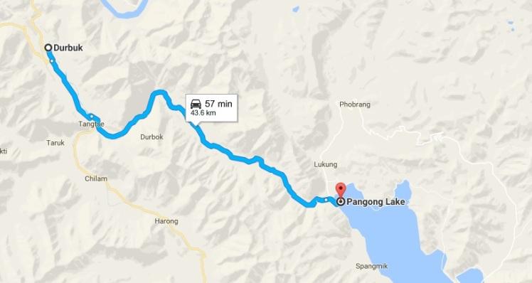 pangong-route